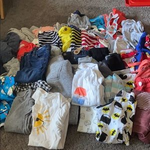 Lot of boys clothes 18-24 months